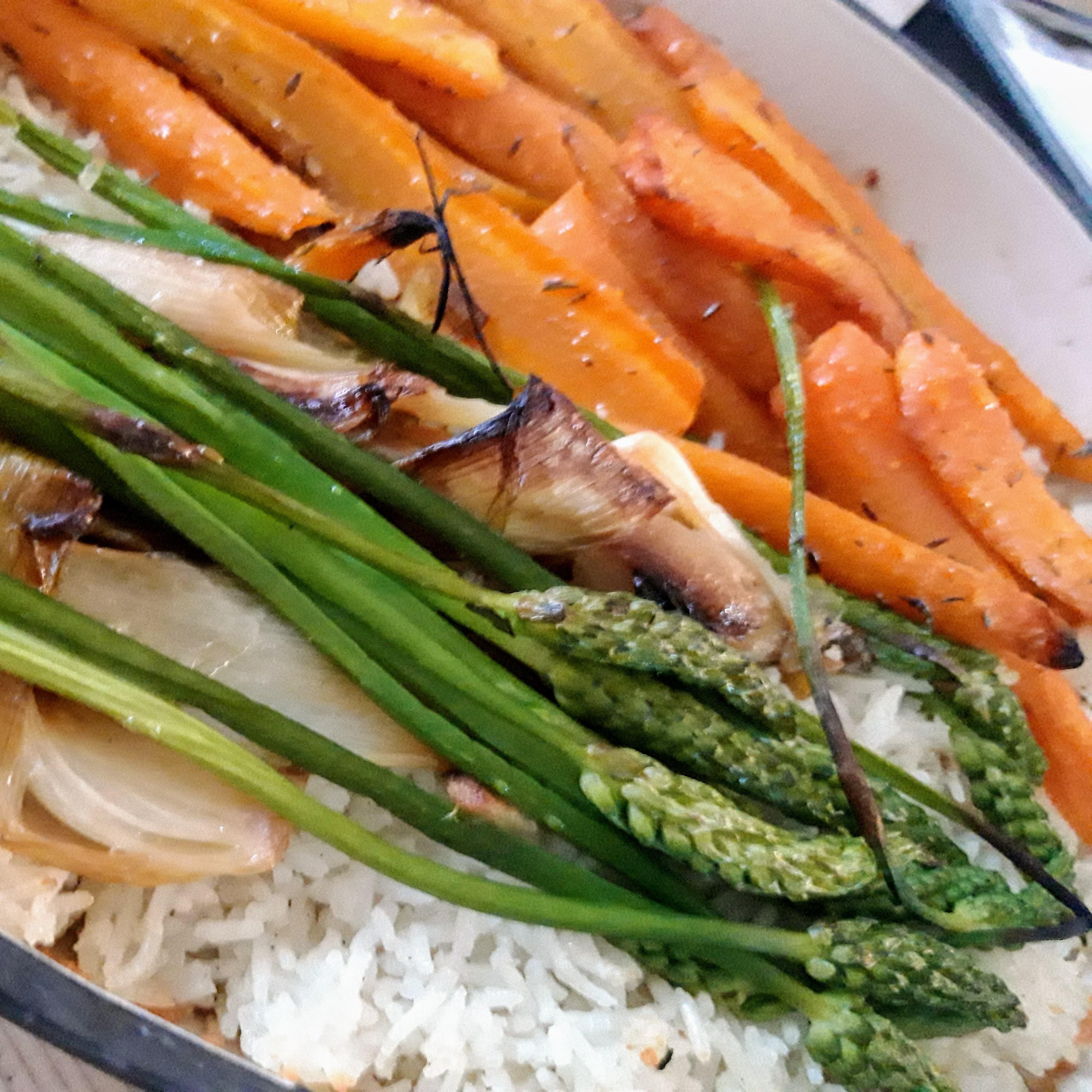 Légumes accompagnement blanquette